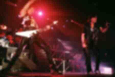 Gitarrist Rudolf Schenker und Klaus Meine