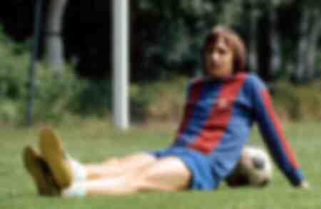 Johan Cruyff du FC Barcelone