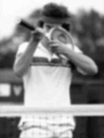 John McEnroe från USA på ett foto som togs 1979