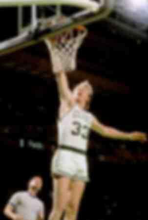 Larry Bird dei Boston Celtics
