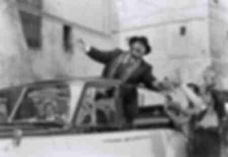 Luciano Pavarotti in the film Yes, Giorgio
