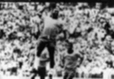 31 maj 1970 Mexico City Mexiko Brasiliansk fotbollsspelare EDSON NASCIMENTO PELE spelar i Wo
