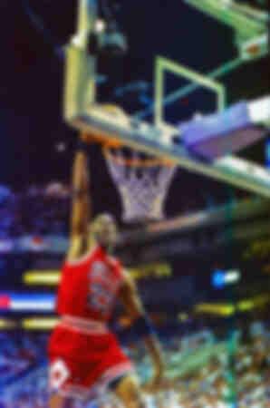 Michael Jordan durante la prima partita delle finali NBA del 1993