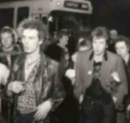 Members of the band Sex Pistols