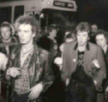 Membres du groupe Sex Pistols