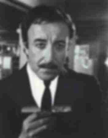 Peter Sellers in the film The Pink Panther Strikes Again