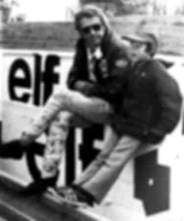 Steve McQueen in Frankreich 1971