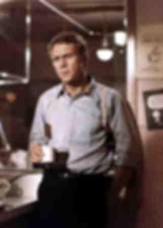 Steve McQueen i filmen Bullit