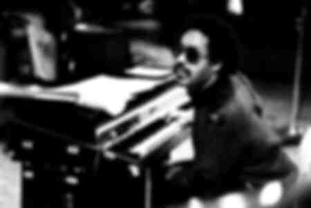 Stevie Wonder in studio 54