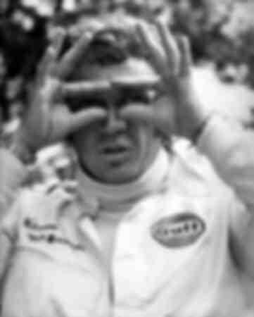 Escena de la película Le Mans con Steve McQueen