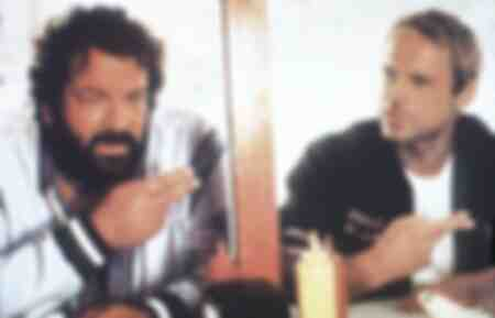 Terence Hill e Bud Spencer nel film Two Out of Control