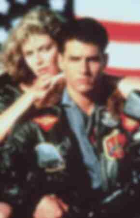 Tom Cruise et Kelly McGillis