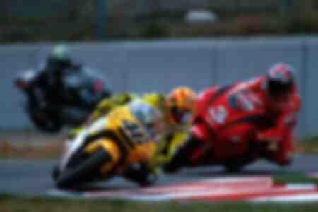 Valentino Rossi and Max Biaggi