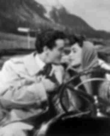 Vittorio Gassman ed Elizabeth Taylor