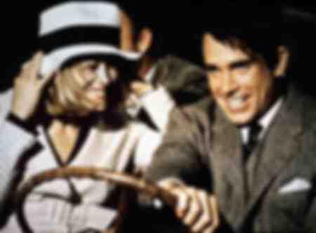 Warren Beatty en Faye Dunaway in de film Bonnie and Clyde