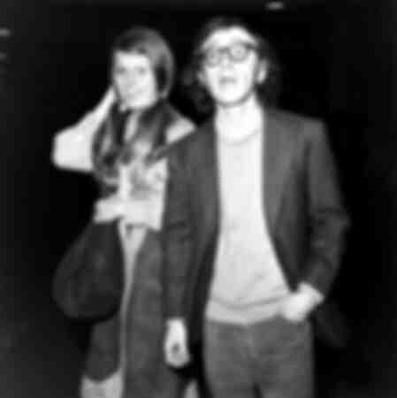 Woody Allen och Louise Lasser