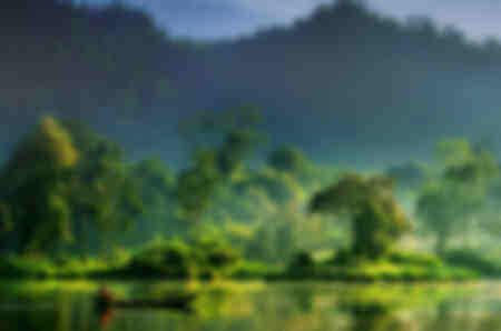Schilderij van de natuur