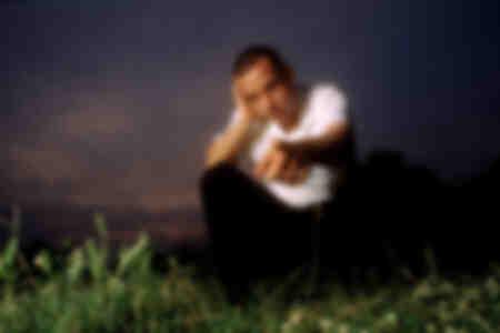 Eros Ramazzotti tijdens het filmen van zijn video juni 1996