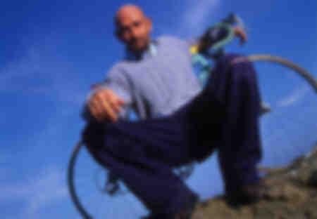 Portrait de Marco Pantani 1998