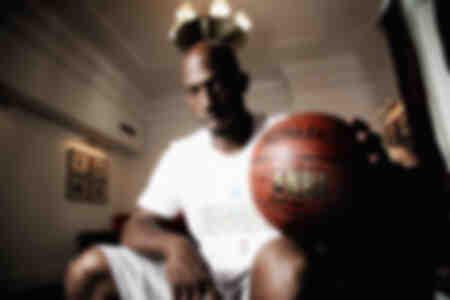 Leggenda NBA Allenatore professionista americano di basket NBA ed ex giocatore Chauncey Billups 2009
