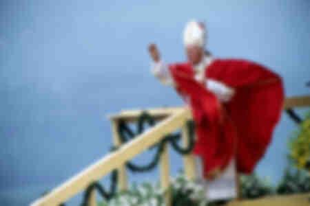 Le pape Jean-Paul II à Skoczow
