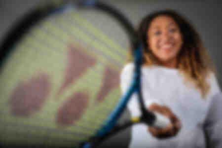 Joueuse de tennis Naomi Osaka Italie 2018