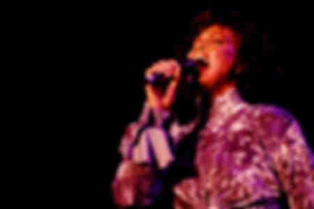 Whitney Houston tritt am 7. Oktober 1993 in Mailand auf