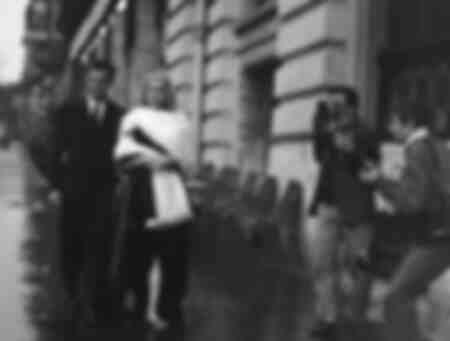"""La dolce vita"" Anita Ekberg avec Marcello Mastroianni"