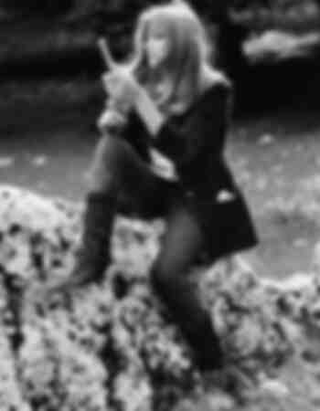 L'actrice italienne Délia Boccardo en 1972