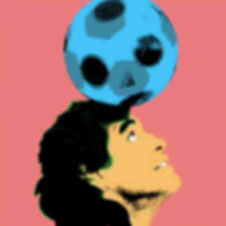 Diego Maradona Pop Art