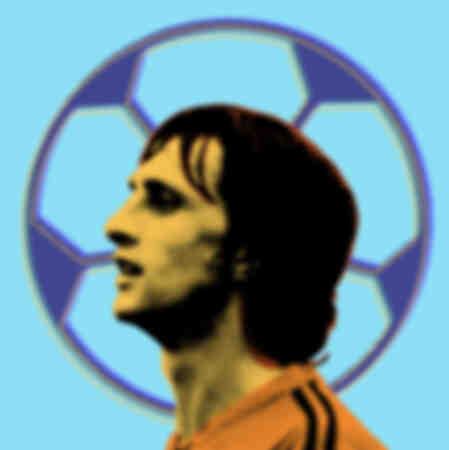 Johan Cruyff Pop Art