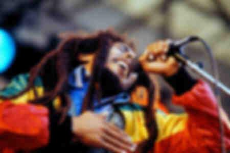 Bob Marley nel 1980