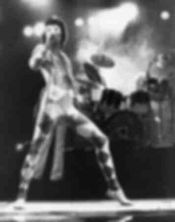 Photo iconique de la couverture de l'album A Day At The Races du groupe Queen