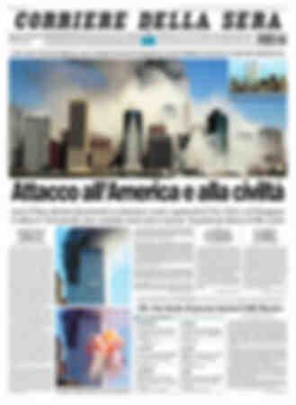 12 settembre 2001