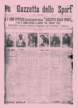 31 maggio 1909