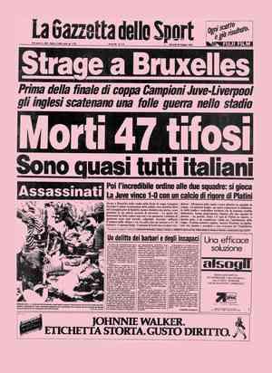 30 maggio 1985