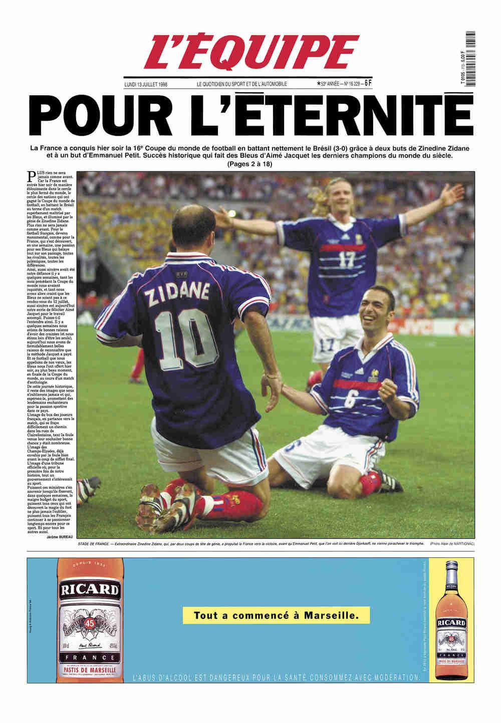 Le Comptoir du Sport - Page 6 1998-07-13